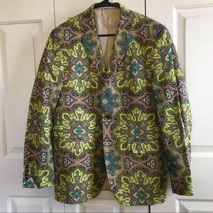 Hickey Freeman hand crafted spring jacket Medium